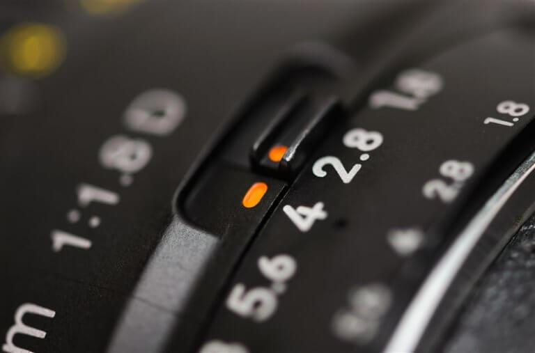 צמצם של מצלמה .