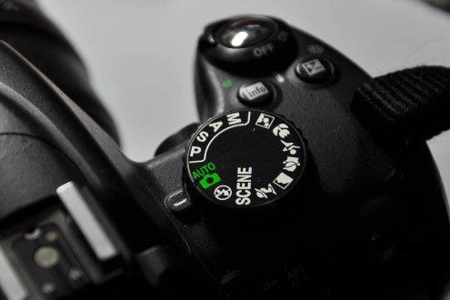 מצב צילום אוטומטי במצלמה .