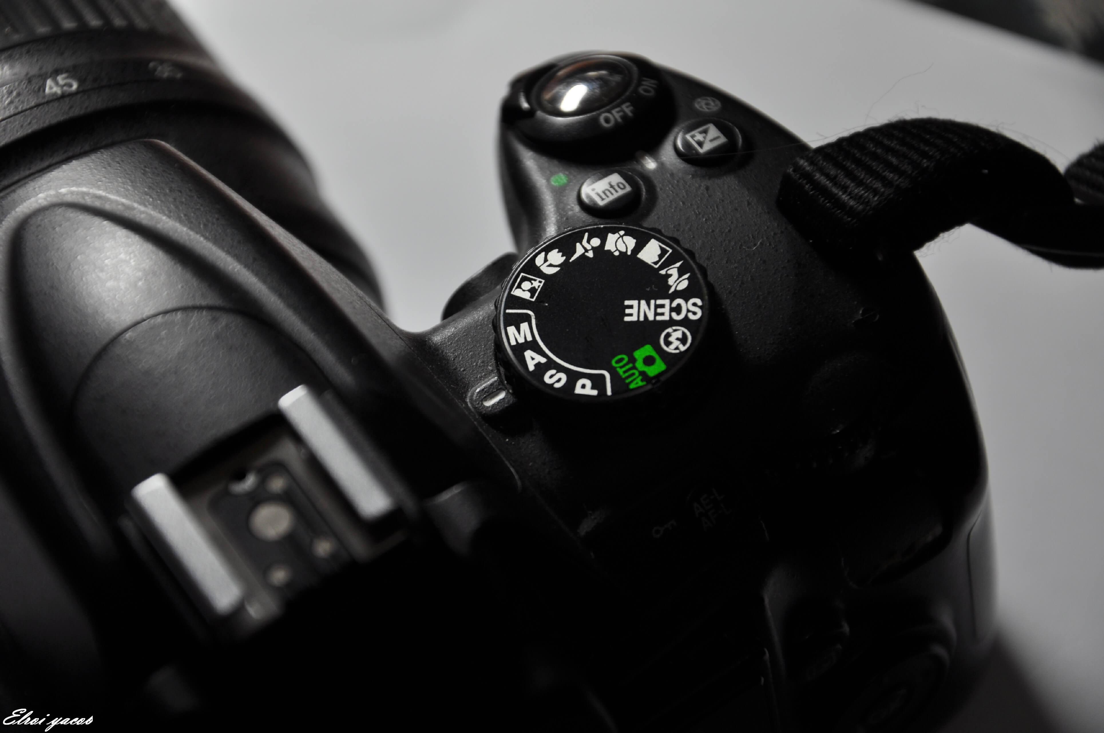 מצב צילום A במצלמה .