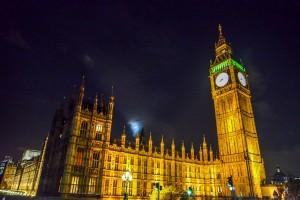 הביג בן לונדון צילום לילה.