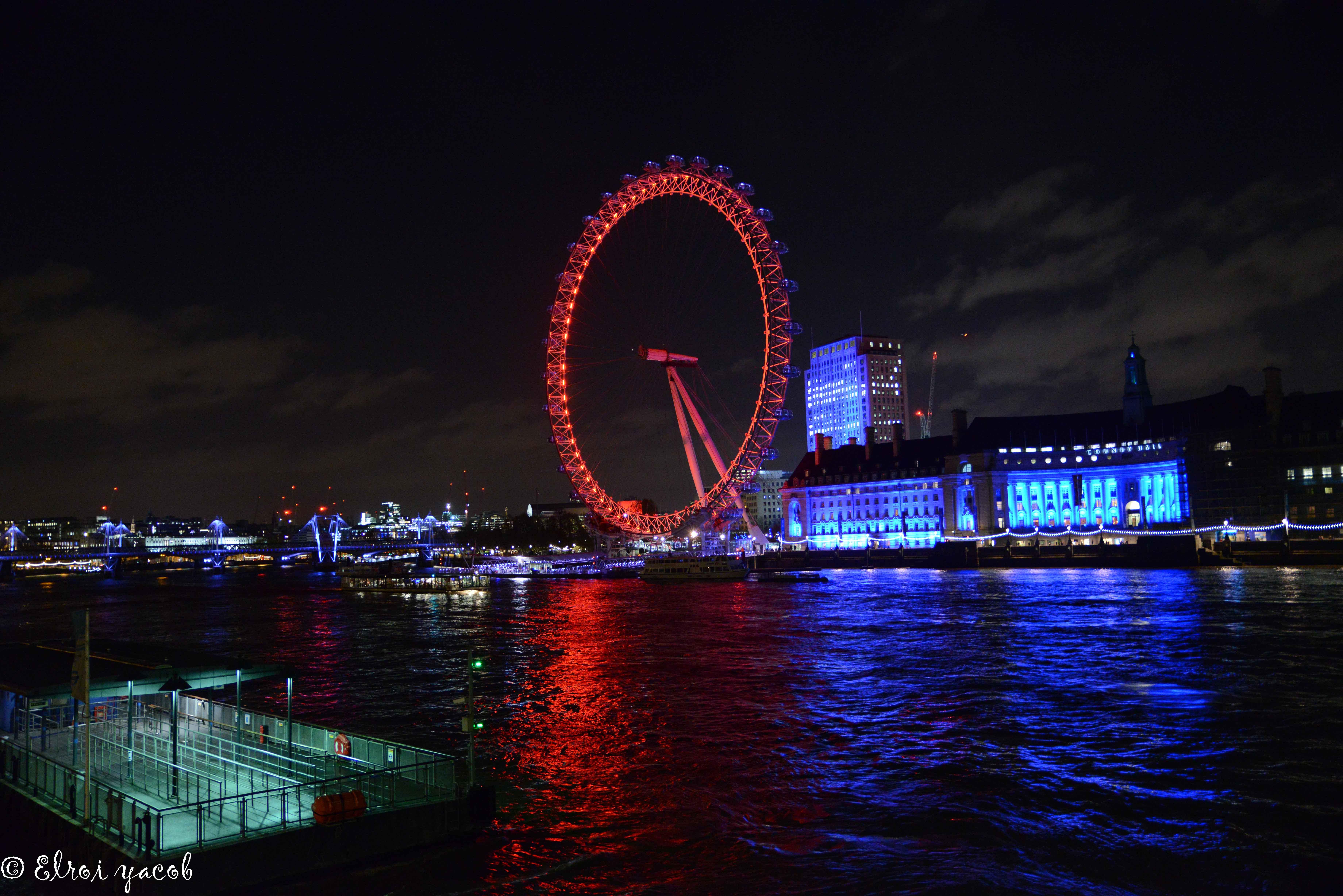 לונדון איי צילום אלרועי יעקב