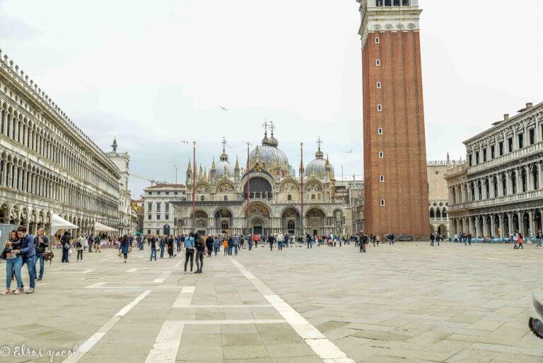 כיכר סן מרקו בוונציה